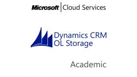 MICROSOFT Dynamics CRM Online Storage, , Academic, Volume License Subscription (VLS), Cloud, Single Language Language, 1 user, 1 year