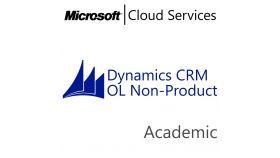 MICROSOFT Dynamics CRM Online Non-Production, , Academic, Volume License Subscription (VLS), Cloud, Single Language Language, 1 user, 1 year