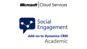 MICROSOFT Social Engagement Posts, , Academic, Volume License Subscription (VLS), Cloud, Single Language Language, 1 user, 1 year