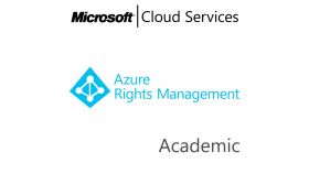 MICROSOFT Azure Rights Management Service Premium, , Academic, Volume License Subscription (VLS), Cloud, Single Language Language, 1 user, 1 year