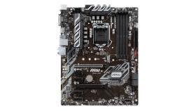 MSI Main Board Desktop B360 (S1151, DDR4, USB3.1, USB2.0, SATA III, M.2, DisplayPort, DVI-D - Requires Processor Graphics, 8-Channel(7.1) HD Audio with Audio Boost, Intel I219-V Gigabit LAN) ATX Retail
