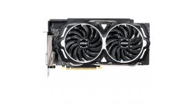 MSI Video Card AMD Radeon RX 590 OC GDDR5 8GB/256bit, 1565/8000MHz, PCI-E 3.0 x16, 2xDP, 2xHDMI, DVI-D, ARMOR 2X Cooler(Double Slot), Retail
