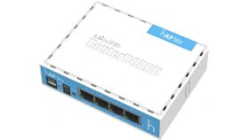 Безжичен Access Point MikroTik hAP lite RB941-2nD, 32MB RAM, 4xLAN, built-in 2.4Ghz 802.11b/g/n, Classic