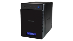 Сторидж Netgear READYNAS 214 (4 BAY DISKLESS), QC 1,4GHz ARM Cortex A15, 2G RAM, 2 x Gigabit ports, 3 x USB 3.0, 1 x eSATA