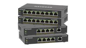 NETGEAR 8PT GE Plus Switch W/POE+