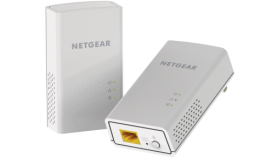Адаптер Netgear POWERLINE 1000, 1 Gigabit Port, AV2, комплект от 2 броя