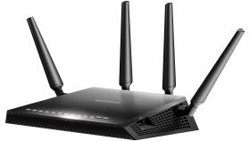 Рутер Netgear R7800, 4PT AC2600 (800 + 1733 Mbps) Nighthawk X4S Smart WiFi, Multi-MMIMO, Gigabit Router with 2 USB, eSATA