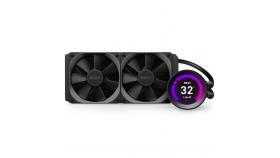 Охладител за процесор NZXT Kraken Z53 (240mm), водно охлаждане с дисплей, RL-KRZ53-01 AMD/Intel