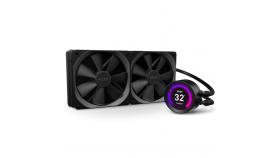 Охладител за процесор NZXT Kraken Z63 (280mm), водно охлаждане с дисплей, RL-KRZ63-01 AMD/Intel