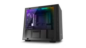 Кутия NZXT H200i Smart Matte mini-ITX, Black