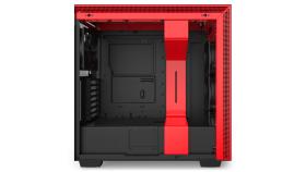 Кутия NZXT H710 Matte Black/Red