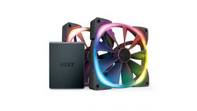 Вентилатори и контролер NZXT Aer RGB 2 Twin Starter 140 мм