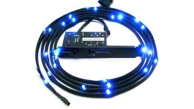 Led лента NZXT Sleeved LED Kit 2m Blue CB-LED20-BU
