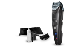 Panasonic Beard Trimmer for Men ER-SB40-K, Cordless/Corded Precision Power, Hair