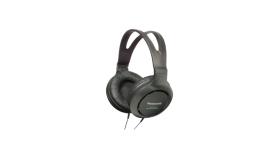 Panasonic пълноразмерни затворен тип слушалки за монитор, черни