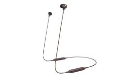 Panasonic безжични спортни стерео слушалки c Bluetooth® и олекотен дизайн, червени