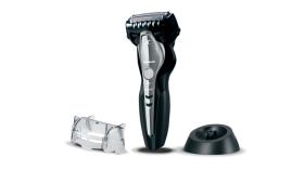 Машинка за бръснене Panasonic ES-ST3N-K803, Wet & Dry, Смарт сензор, Черна/Сребриста