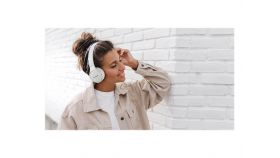 PANASONIC RB-HF420BE-W bluetooth Headset white up to 50 hours playback