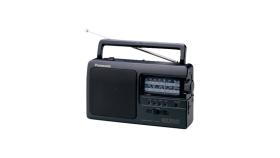 Преносимо радио Panasonic RF-3500E9-K, Черно