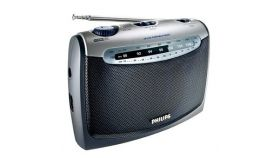 Philips портативно радио FM/MW, батерии 2xLR20, 1,5 V