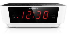 Philips радио с часовник и аларма, компактен дизайн