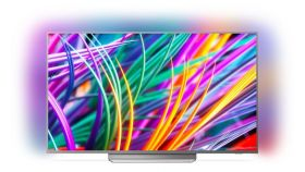 "Philips 49"" UHD,  DVB T/C/T2/T2-HD/S/S2 , Android TV, Ambilight 3, Ultra, Micro Dimming Pro, 1600 PPI, DTS-HD Premium Sound 20W,  Silver"