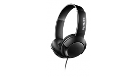 Philips слушалки с лента за глава, цвят черен