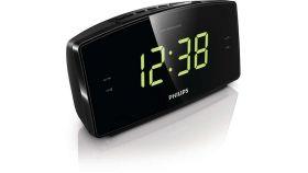Philips радио с часовник, радиобудилник