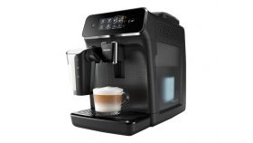 PHILIPS Fully automatic espresso machine 2200 series 3 Beverages Intuitive touch display LatteGo