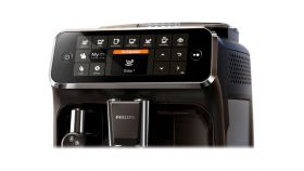 PHILIPS Fully automatic espresso machine 4300 series 5 beverages, Intuitive touch display
