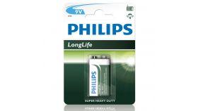 Philips Longlife батерия 9V (E), 1-blister