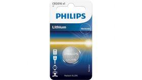 "Philips литиева батерия тип ""копче"" 3.0V, 1-blister (20.0 x 1.6)"