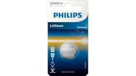 "Philips литиева батерия тип ""копче"" 3.0V, 1-blister (20.0 x 2.5)"