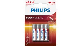 PHILIPS POWERLIFE LR03 AAA 4-BLISTERI