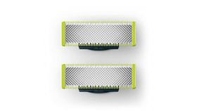PHILIPS PH OneBlade replacement blade 2-pack incl. 2 replacement blades last up to 8 months