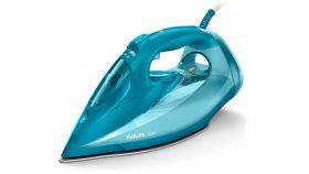 Philips Парна ютия Azur, 50 гр/мин непрекъсната пара 230 г парен удар Гладеща повърхност SteamGlide Plus