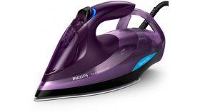 Philips Парна ютия Azur Advanced, технология OptimalTEMP 3000 W, 55 г/мин непрекъсната пара, 230 г парен удар, Гладеща повърхност SteamGlide Plus