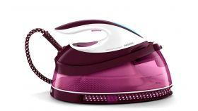 Philips Парогенератор PerfectCare Compact Макс. 5, 3 бара налягане на помпата, До 280 г парен удар, Воден резервоар с вместимост 1, 5 л, Заключване при носене