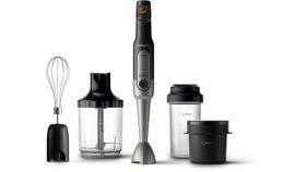 Philips Ръчен пасатор Viva Collection, ProMix Пасираща мощност от 800 W, SpeedTouch с регулиране на скоростта, Чаша за из път; чаша за супа, Лесно почистване
