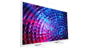 "Philips 32"" FHD TV, DVB T/C/T2/T2-HD/S/S2,  Incredible Surround, Clear Sound, 16W,  Бял"