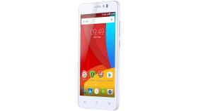 "Prestigio MUZE K5 5.0"" HD IPS LTE-4G, Dual sim, Android 5.1, Quad-Core 1,3GHz, 720*1280, 8 GB eMMC, 1 GB RAM, 2.0 FF + 8.0Mpx, 2400mAh, White"