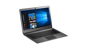 Prestigio SmartBook 133S, 13.3'' (1920*1080) IPS (anti-Glare), Windows 10 Home, up to 2.4GHz DC Intel Celeron N3350, 3GB DDR, 32GB Flash, BT 4.0, WiFi, Micro HDMI, SSD slot (M.2), 0.3MP Cam, EN kbd, 5000mAh, 7.4V bat, Dark grey