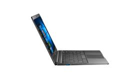"""Prestigio SmartBook 141S, 14.1""""(1920*1080) IPS (anti-Glare), Windows 10 Home, up to 2.4GHz DC Intel Celeron N3350, 4GB DDR, 32GB Flash + 120GB SSD M.2, BT 4.0, WiFi, Micro HDMI, SSD slot(M.2), 0.3MP Cam, EN kbd, 5000mAh, 7.4V bat, Dark grey"""