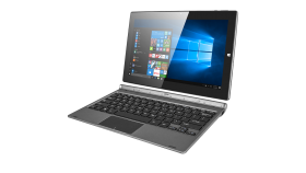 "Prestigio Visconte S (11.6"" IPS 1920*1080, Intel Atom x5-Z8300, 2GB+32GB, cameras 2MP+5MP,7500 mAh, OS Windows 10 Home, BT, Wi-Fi, USB 2.0 type C,USB 2.0 (on the KB), mini HDMI, micro SD support up to 128 GB, US/RU) Cool Grey"