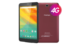 "Prestigio Grace 3157 4G, PMT3157_4G_C_WN_BG, Dual SIM, 4G,7"" (720*1280) IPS display, Android 7.0, 1.3GHz Quad Core, 1GB DDR, 8GB Flash, 0.3MP front + 2.0MP rear camera, 2800mAh, color/ Marsala, Plastic housing"