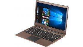 "Prestigio SmartBook 133S, 13.3""(1920*1080) IPS (anti-Glare), Windows 10 Pro, up to 2.4GHz DC Intel Celeron N3350, 3GB DDR, 32GB Flash, BT 4.0, WiFi, Micro HDMI, SSD slot (M.2), 0.3MP Cam, EN+BG kbd, 5000mAh, 7.4V bat, Dark brown"