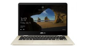 "Asus UX461UA-E1013T (Flip 360', Stylus Pen), Intel Core i5-8250U (up to 3.4GHz, 6MB), 14"" FullHD (1920x1080) LED Glare Touch, 8GB DDR4, 256GB SSD SATA3, Intel HD Graphics, 802.11a/c, BT 4.1, Win 10 Home 64 bit, Carry Sleeve, Metal Gold"