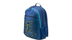 "HP 15.6"" Active Backpack (Navy Blue/Yellow)"