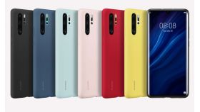 Huawei Vogue P30 Pro, Silicone Case, Red