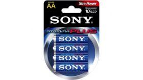 Sony AM3-B4D Alkaline LR6-AA Stamina Plus 4 pcs blister, AA